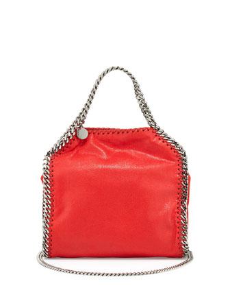 Falabella Mini Tote Bag, Cherry