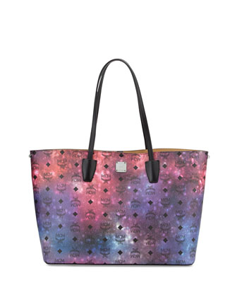 Galaxy Visetos Medium Tote Bag