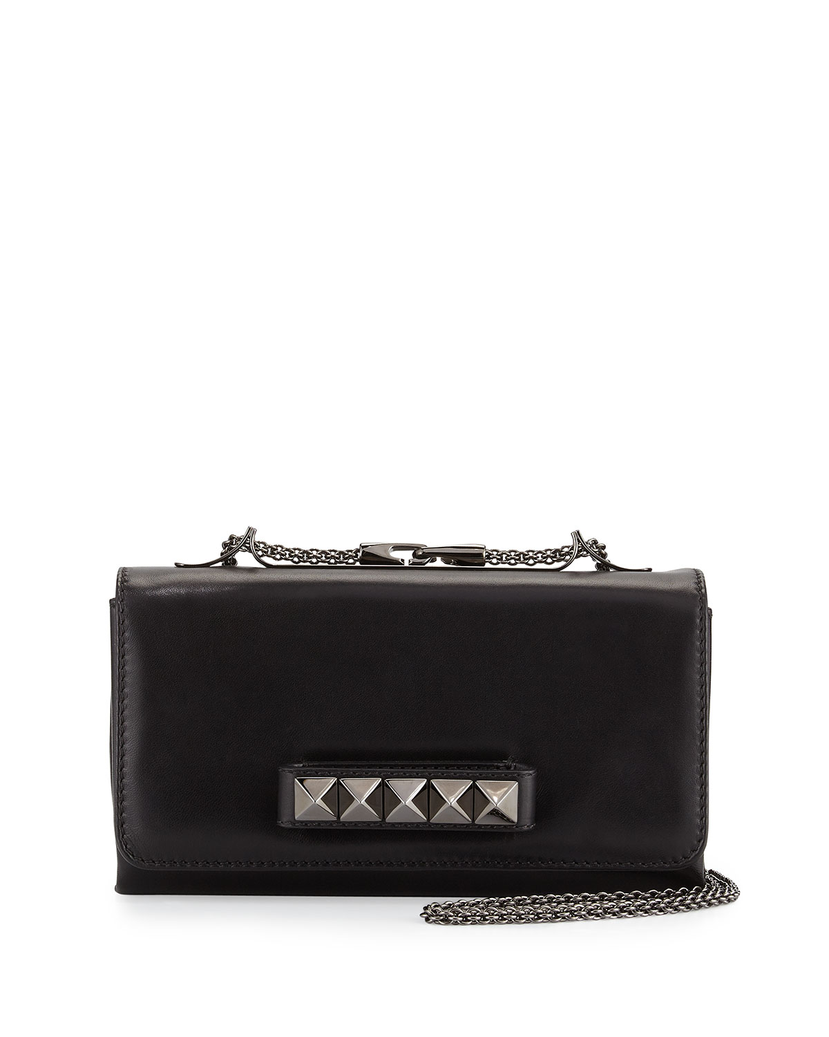 Red Valentino Va Va Voom Flap Shoulder Bag, Noir Black