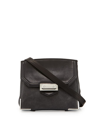 Prisma Marion Crossbody Bag, Black/Gray