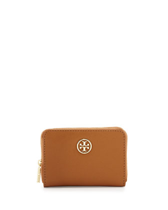 Robinson Zip Coin Case, Tiger's Eye