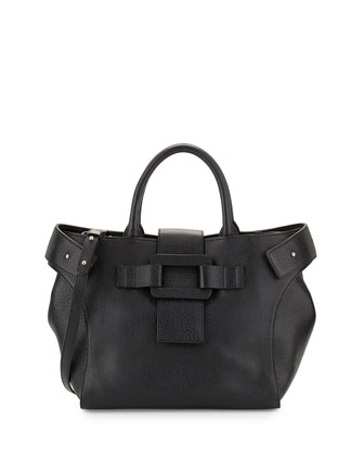 Pilgrim de Jour Medium Leather Shopping Tote Bag