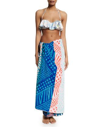 Pendleton Peacock Printed Beach Towel