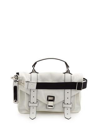 PS1 Tiny Nylon Tote Bag, Optic White