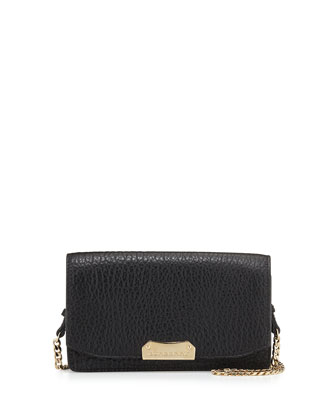 Madison Chain Crossbody Bag, Black