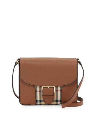 Dickens Small Horseferry Check Crossbody Bag, Tan