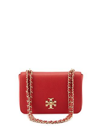 Mercer Adjustable-Strap Shoulder Bag, Vermillion