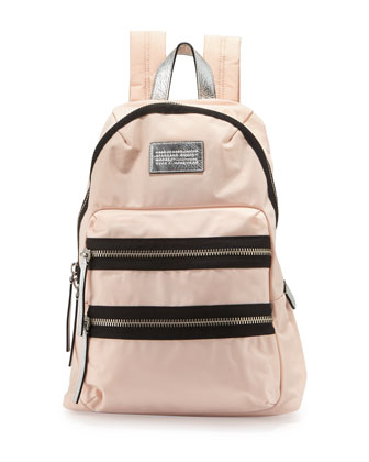 Domo Arigato Packrat Nylon Backpack, Pearl Blush Multi