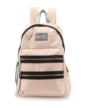 Domo Arigato Packrat Nylon Backpack, Pearl Blush Multi