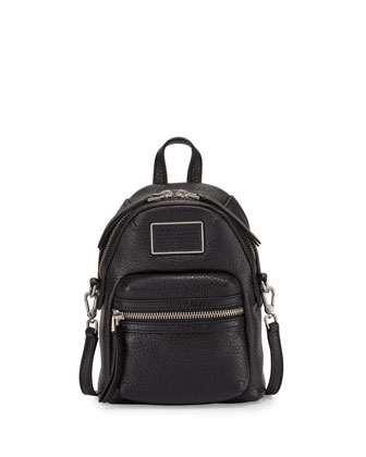 Domo Biker Cross Biker Backpack, Black