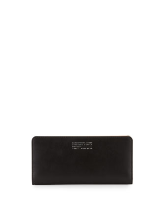 Quintessential Colorblock Tomoko Wallet, Black