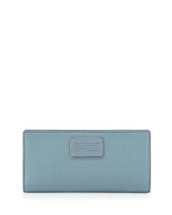 New Too Hot Too Handle Tomoko Wallet, Ice Blue