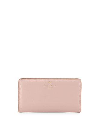 carlton street stacy wallet, rose/gold