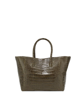 Custom Crocodile Medium Convertible Tote Bag