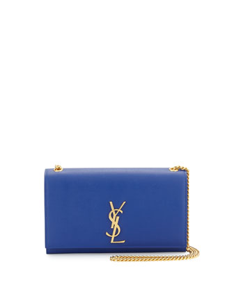 Monogram Medium Chain Shoulder Bag, Cobalt