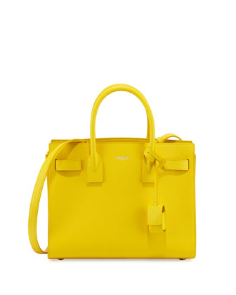 Sac de Jour Baby Satchel Bag, Yellow