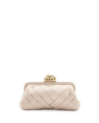 Olivia Evening Clutch Bag, Toffee