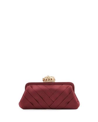 Olivia Evening Clutch Bag, Wine