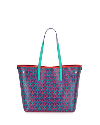 Marlborough Patch Little Tote Bag, Multi