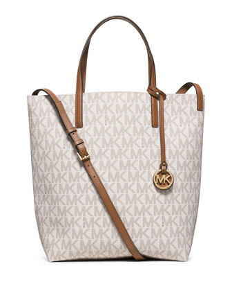 Hayley Large Convertible Tote Bag, Vanilla