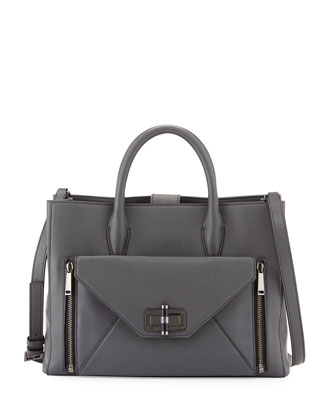 440 Gallery Secret Agent Tote Bag, Slate