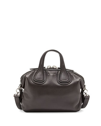 Nightingale Micro Satchel Bag, Black