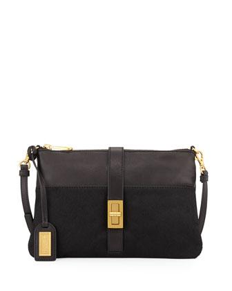 Annabella Small Crossbody Bag, Black