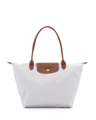 Le Pliage Large Shoulder Tote Bag, Pearl