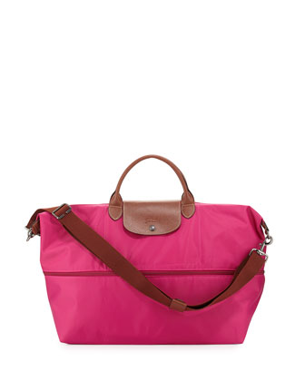 Le Pliage Expandable Travel Bag, Cyclamen