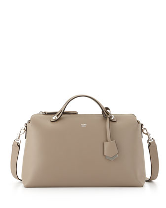 By The Way Large Satchel Bag, Dove Gray