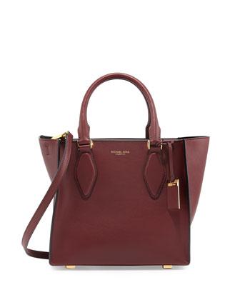 Gracie Medium Tote Bag, Claret