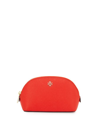 Robinson Small Makeup Bag, Poppy Red