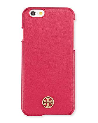 Robinson Logo iPhone 6 Case, Raspberry