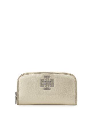 Britten Zip Continental Wallet, Light Gold
