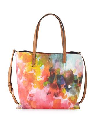 Kerrington Watercolor Mini Square Tote Bag