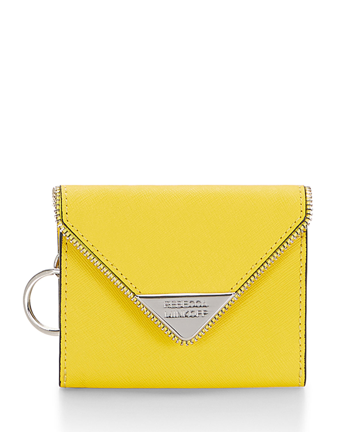 Molly Metro Coin Purse, Sunshine (Yellow) - Rebecca Minkoff