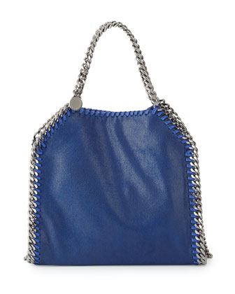 Falabella Mini Chain Tote Bag, Blue