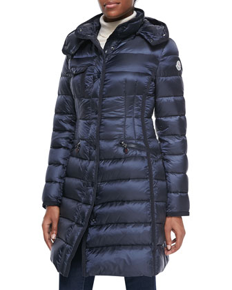 Hermine Hooded Puffer Coat
