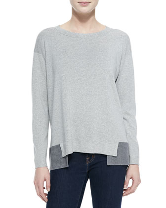 Relax-Layered Sweater