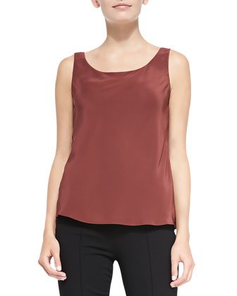 Silk Lined Tank Top, Date