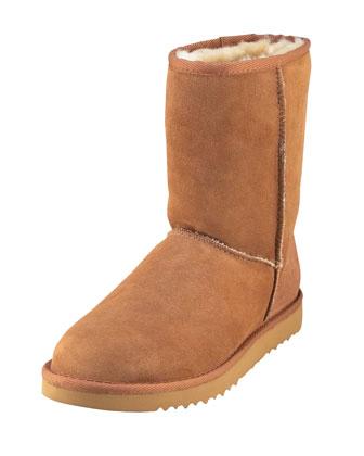 Classic Short Boot, Chestnut