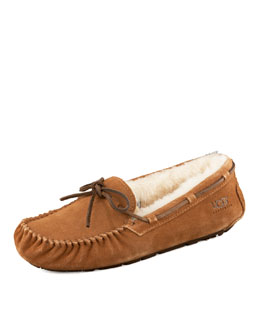 UGG Australia Dakota Driver Bow Slipper