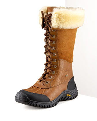 Adirondack Lugged Shearling Boot
