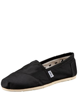 TOMS Grosgrain Slip-On, Black