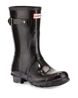 Hunter Boot Original Short Gloss Boot