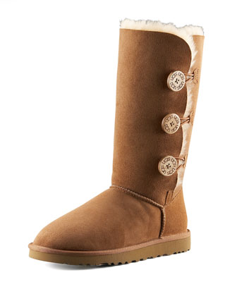 Bailey Button Tall Boot, Chestnut