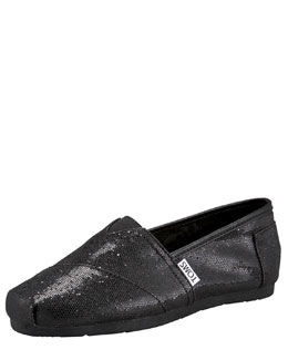 TOMS Exclusive Glitter Slip-On, Youth