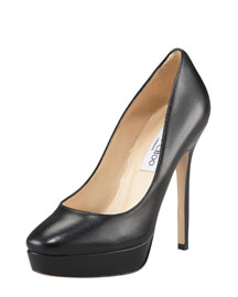 Jimmy Choo Leather Platform Pump