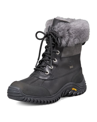 Adirondack Leather Shearling Boot II