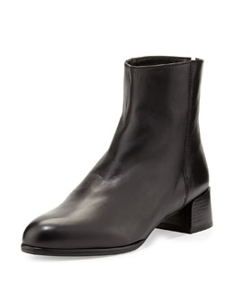 Stuart Weitzman Low-Wedge Ankle Boot